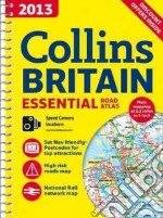 2013 Essential Road Atlas Britain libro in lingua