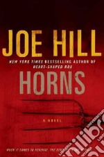 Horns libro in lingua di Hill Joe