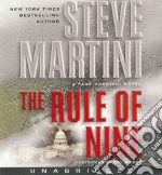 The Rule of Nine (CD Audiobook) libro in lingua di Martini Steve, Woren Dan (NRT)