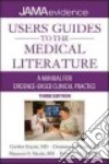 Users' Guides to the Medical Literature libro str