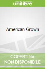 American Grown libro in lingua di Michelle Obama