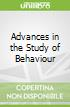 Advances in the Study of Behaviour