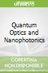Quantum Optics and Nanophotonics