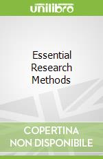 Essential Research Methods libro in lingua di Pell Godfrey