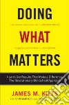 Doing What Matters libro str