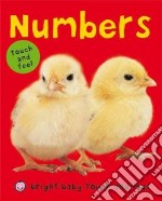 Numbers libro in lingua di Priddy Books (COR)