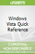Windows Vista Quick Reference