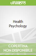 Health Psychology libro in lingua di Jane Ogden