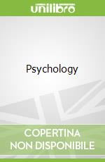 Psychology libro in lingua di Heffernan Thomas
