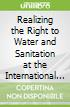 Realizing the Right to Water and Sanitation at the International and National Levels