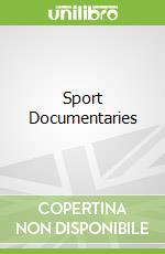 Sport Documentaries libro in lingua di McDonald Ian