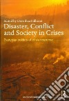 Disaster, Conflict and Society in Crises