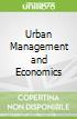 Urban Management and Economics