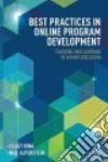 Best Practices in Online Program Development