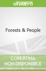 Forests & People libro in lingua di Stahl