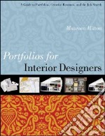 Portfolios for Interior Designers libro in lingua di Mitton Maureen
