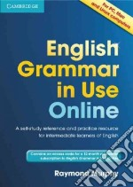 English Grammar in Use Online (Access Code Pack) libro in lingua di Raymond Murphy