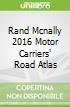 Rand Mcnally 2016 Motor Carriers' Road Atlas