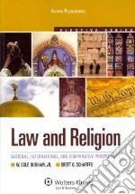 Law and Religion libro in lingua di Schraffs Brett G., Durham Cole W.
