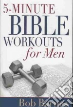5-minute Bible Workouts for Men libro in lingua di Barnes Bob