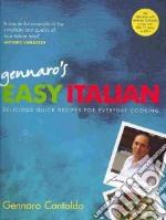 Gennaro's Easy Italian libro in lingua di Contaldo Gennaro