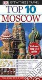 DK Eyewitness Travel Top 10 Moscow libro in lingua di Willis Matthew