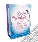 Emily Windsnap Four Sparkling Underwater Adventures libro in lingua di Kessler Liz, Ledwidge Natacha (ILT), Gibb Sarah (ILT)