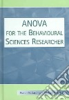 Anova For The Behavioural Sciences Researcher