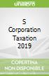 S Corporation Taxation 2019