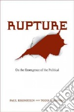 Rupture libro in lingua di McGowan Todd, Eisenstein Paul