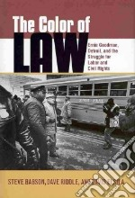 The Color of Law libro in lingua di Babson Steve, Riddle Dave, Elsila David