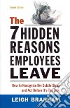 The 7 Hidden Reasons Employees Leave libro str