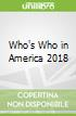 Who's Who in America 2018