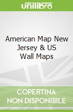 American Map New Jersey & US Wall Maps libro in lingua di American Map (EDT)