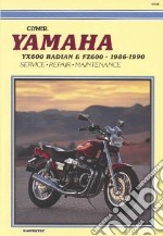 Clymer Yamaha Yx600 Radian & Fz600 libro in lingua di Not Available (NA)