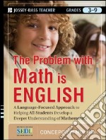 The Problem With Math Is English libro in lingua di Molina Concepcion