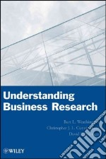 Understanding Business Research libro in lingua di Weathington Bart L., Cunningham Christopher J. L., Pittenger David J.