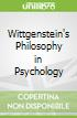 Wittgenstein's Philosophy in Psychology