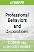 Professional Behaviors and Dispositions
