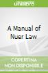 A Manual of Nuer Law