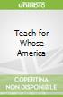 Teach for Whose America