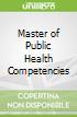 Master of Public Health Competencies