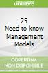 25 Need-to-know Management Models libro str