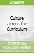 Culture across the Curriculum