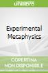 Experimental Metaphysics