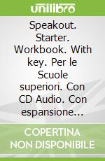 Speakout Starter Workbook with Key and Audio CD Pack libro in lingua di Frances Eales