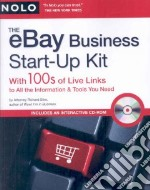 eBay Business Start-Up Kit libro in lingua di Stim Richard