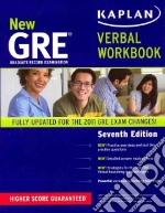 Kaplan New GRE Verbal Workbook libro in lingua di Kaplan (COR)