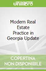 Modern Real Estate Practice in Georgia Update libro in lingua di Kaplan
