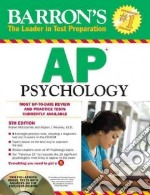 Barron's Ap Psychology libro in lingua di McEntarffer Robert, Weseley Allyson J.